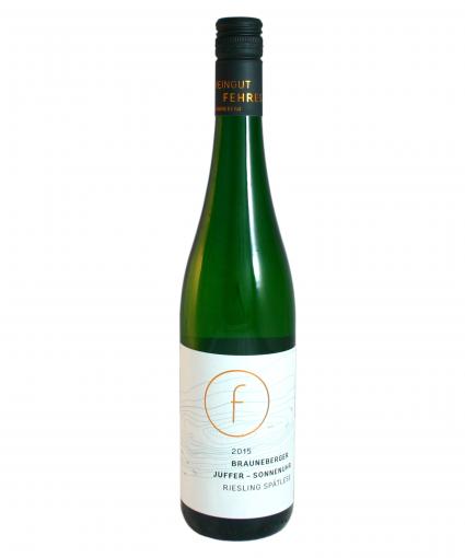 2015 Weingut Fehres Brauneberger Juffer Sonnenuhr Riesling Spätlese lieblich